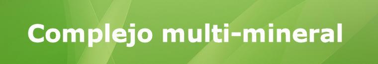 Complejo multi-mineral