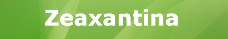 Zeaxantina