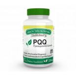 PQQ (as PureQQ™) 20 mg (non-GMO) (30 Vegicaps) - Health Thru Nutrition
