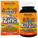 Kid Zinc Lozenges, Natural Tangerine Flavor (90 Animals) - Nature's Plus
