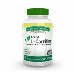 Acetyl L-Carnitine 500mg (non-GMO) (200 Vegicaps) - Health Thru Nutrition