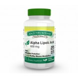 Alpha Lipoic Acid 600 mg (60 Vegicaps) - Health Thru Nutrition