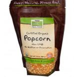 Reales de los alimentos, certificada orgánica de palomitas, 24 oz (680 g) - Now Foods