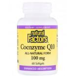 Coenzyme Q10- 100 mg (60 softgels) - Natural Factors