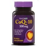 Natrol, CoQ-10 100 mg, 60 Softgels