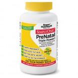 Súper Nutrición Simplemente Uno -Prenatal Triple Power- 90 tabletas