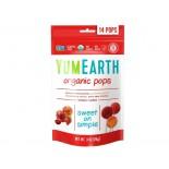 Organic Pops - Assorted Flavors 14 Pops (85 Gram) - Yummy Earth