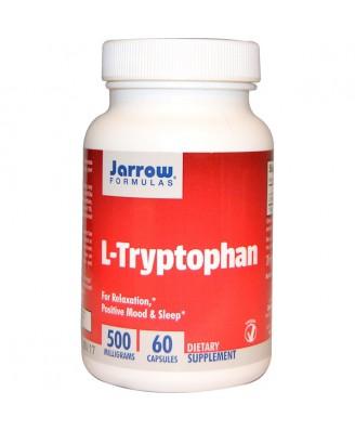 L-Tryptophan 500 mg (60 Vegetarian Capsules) - Jarrow Formulas