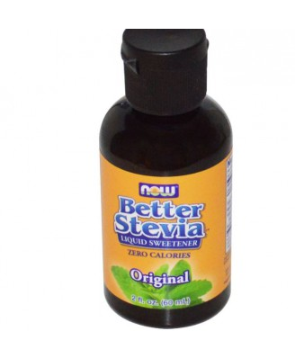 BetterStevia, extracto líquido (60 ml) - Now Foods