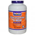 Glucosamine & Chondroitin with MSM (180 Capsules) - Now Foods