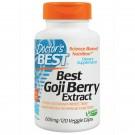 Best Goji Berry Extract 600 mg (120 Veggie Caps) - Doctor's Best