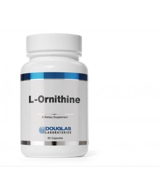 L-ornitina - 60 cápsulas - Douglas Laboratories