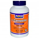 L-carnosina 500 mg - 100 Vcaps - Now Foods