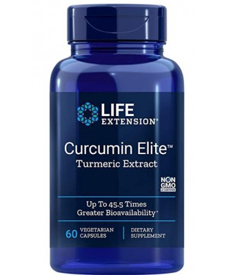 Life Extension, Curcumin Elite Tumeric Extract 400 mg, 60 Veggie Caps