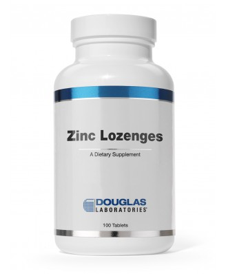 Douglas Laboratories,Zinc Lozenges - 100 Lozenges