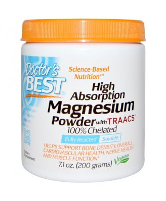 High Absoprtion Magnesium Powder with TRAACS (200 g) - Doctor's Best