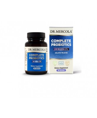 Complete Probiotics 100 Billion CFU (30 Capsules) - Dr. Mercola