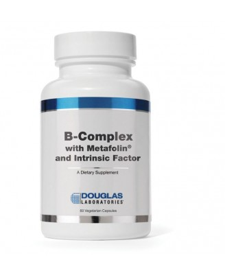 B-complex w/Metafolin ® y Factor intrínseco (caps 60 vegetariana) - Douglas Laboratories
