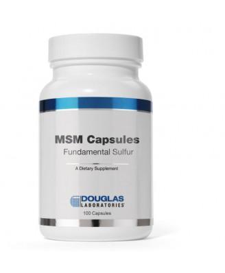 MSM® Capsules Fundamental Sulfur (90 capsules) - Douglas Laboratories
