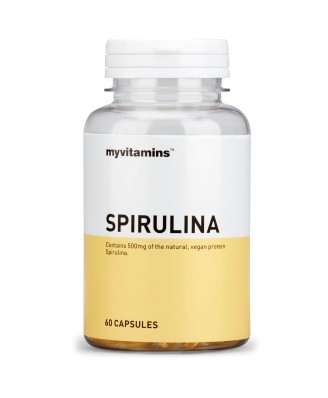 Spirulina (180 Capsules) - Myvitamins