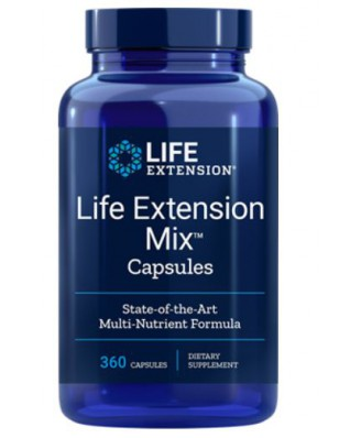 Life Extension, Mix Capsules 360