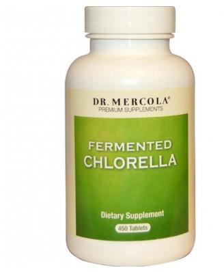 Dr. Mercola, complementos de prima, fermentados Chlorella, 450 tabletas