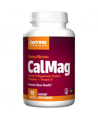 CalMag Citrates/Malates (90 tablets) - Jarrow Formulas