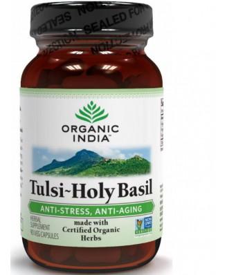 Tulsi Holy Basil (90 Veggie Capsules) - Organic India