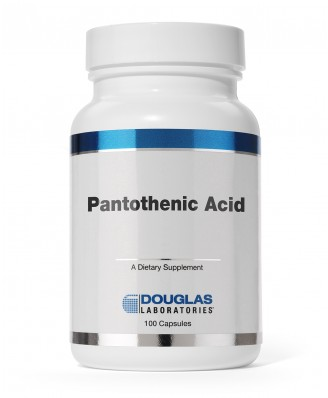 Pantothenic Acid 500 mg (100 Capsules) - Douglas Laboratories
