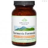 Organic India -  cúrcuma inflamación fórmula - sana respuesta - Veggie 90 Caps