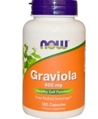 Now Foods, Graviola, 100 Capsules