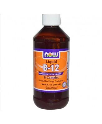 Now Foods , B-12, líquido, complejo B, 8 onzas (237 ml)
