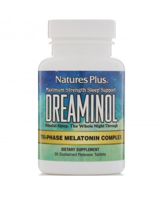 Dreaminol (30 Tablets) - Nature's Plus