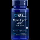 Super Ácido Alfa-Lipoico Con Biotina - 250 Mg 60 Cápsulas - Life Extension