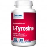 Jarrow Formulas, L-Tyrosine, 500 mg, 100 Capsules