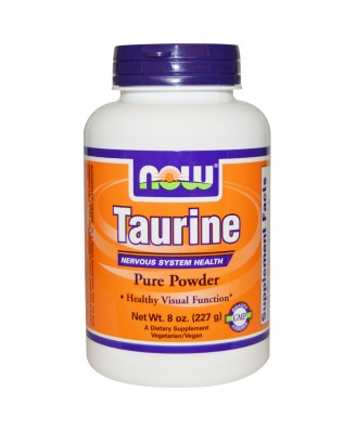 Taurine Pure Powder (227 gram) - Now Foods