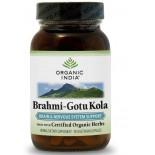 Brahmi-Gotu Kola (90 Veggie Caps) - Organic India