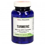 Turmeric 200 mg GPH Capsules (180 Capsules) - Gall Pharma GmbH