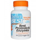 Proteolytic Enzymes (90 Enteric Coated Veggie Caps ) - Doctor's Best