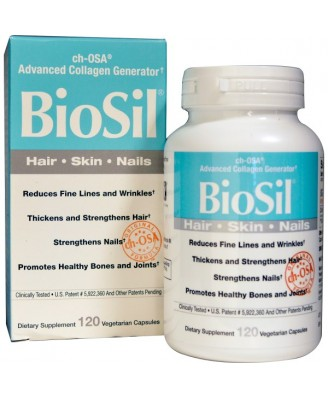 BioSil- ch-OSA Advanced Collagen Generator (120 Vegetarian Capsules) - Natural Factors
