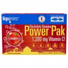 Trace Minerals Research, Liquimins, Power Pak, Electrolyte Stamina, Raspberry, 30 Packets, 0.18 oz (5.1 g) Each