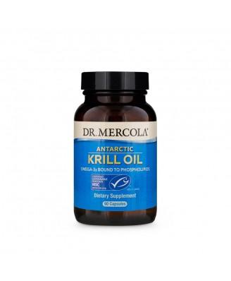 Krill Olie, 1000 mg (60 softgels) - Dr. Mercola
