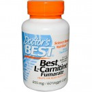 Doctor's Best, Best L-Carnitine Fumarate, 855 mg, 60 Veggie Caps