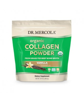 Organic Collagen Powder 304 gram Vanilla - Dr. Mercola