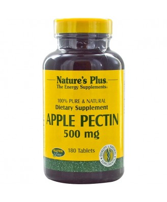 Apple Pectin - 500 mg (180 Tablets) - Nature's Plus