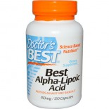 Best Alpha Lipoic Acid, 150 mg (120 Capsules) - Doctor's Best