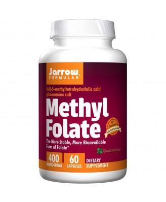 Methyl Folate 400 mcg (60 Capsules) - Jarrow Formulas