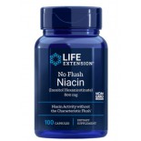 No-Flush Niacin (Inositol Hexanicotinaat) 800 mg - 100 Capsules - Life Extension