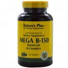 Mega B-150, Balanced B-Complex (90 Tablets) - Nature's Plus
