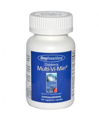Children's Multi-Vi-Min 150 Veggie Caps - Allergy Research Group